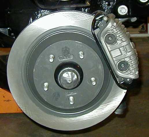 "12"" Corvette brakes on a first gen Camaro"